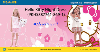 Hello Kitty Night and Pyjama Set