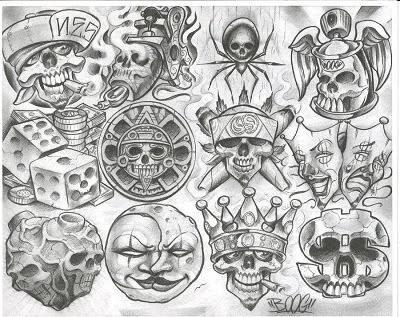 Skull lip tattoo ideas