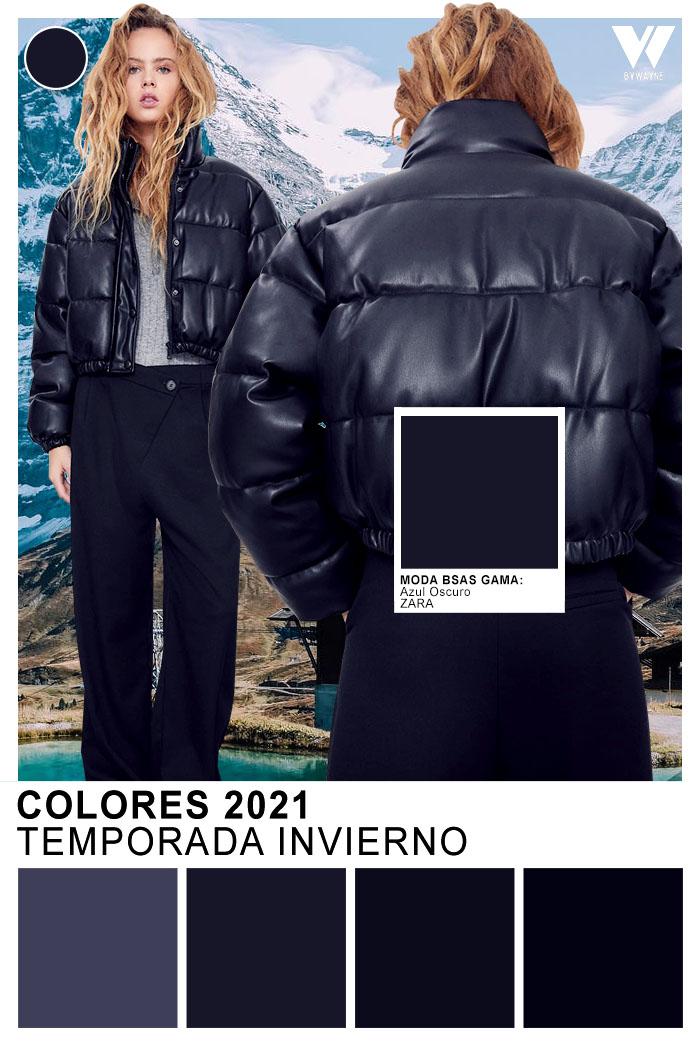 Moda colores otoño invierno 2021
