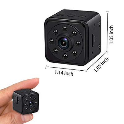 Soospy Hidden Cam - Mini Security Spy Video Camera with Motion Detection