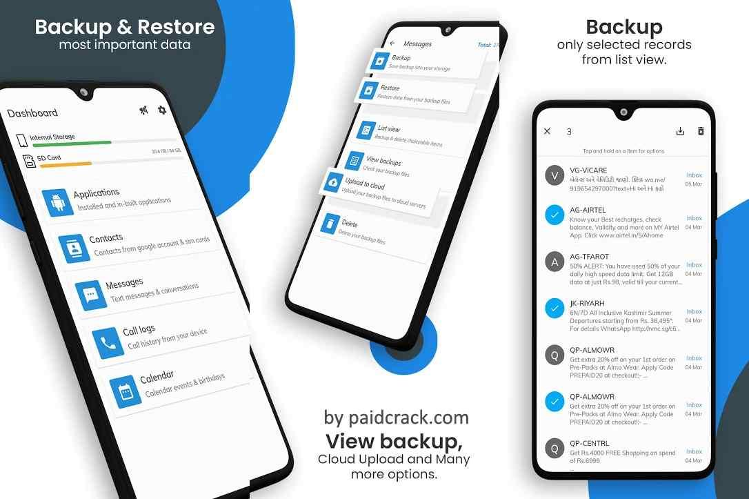 All Backup & Restore Mod Apk