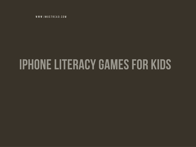 IPHONE LITERACY GAMES FOR KIDS