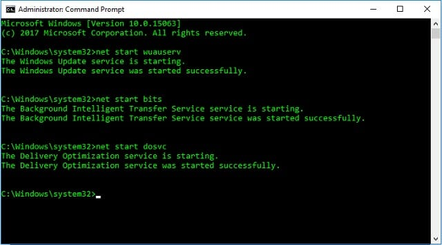 Cara mematikan paksa Update Windows 10 menggunakan Command Prompt (CMD) 3