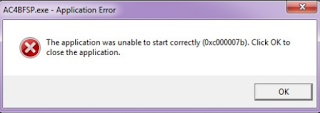 Cara Atasi The Application Was Unable Correctly ( 0xc000007b) Ketika Instal Aplikasi Dapodik Versi 2020