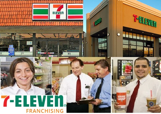 7 Eleven Franchise Cost Fee Locations Opportunities