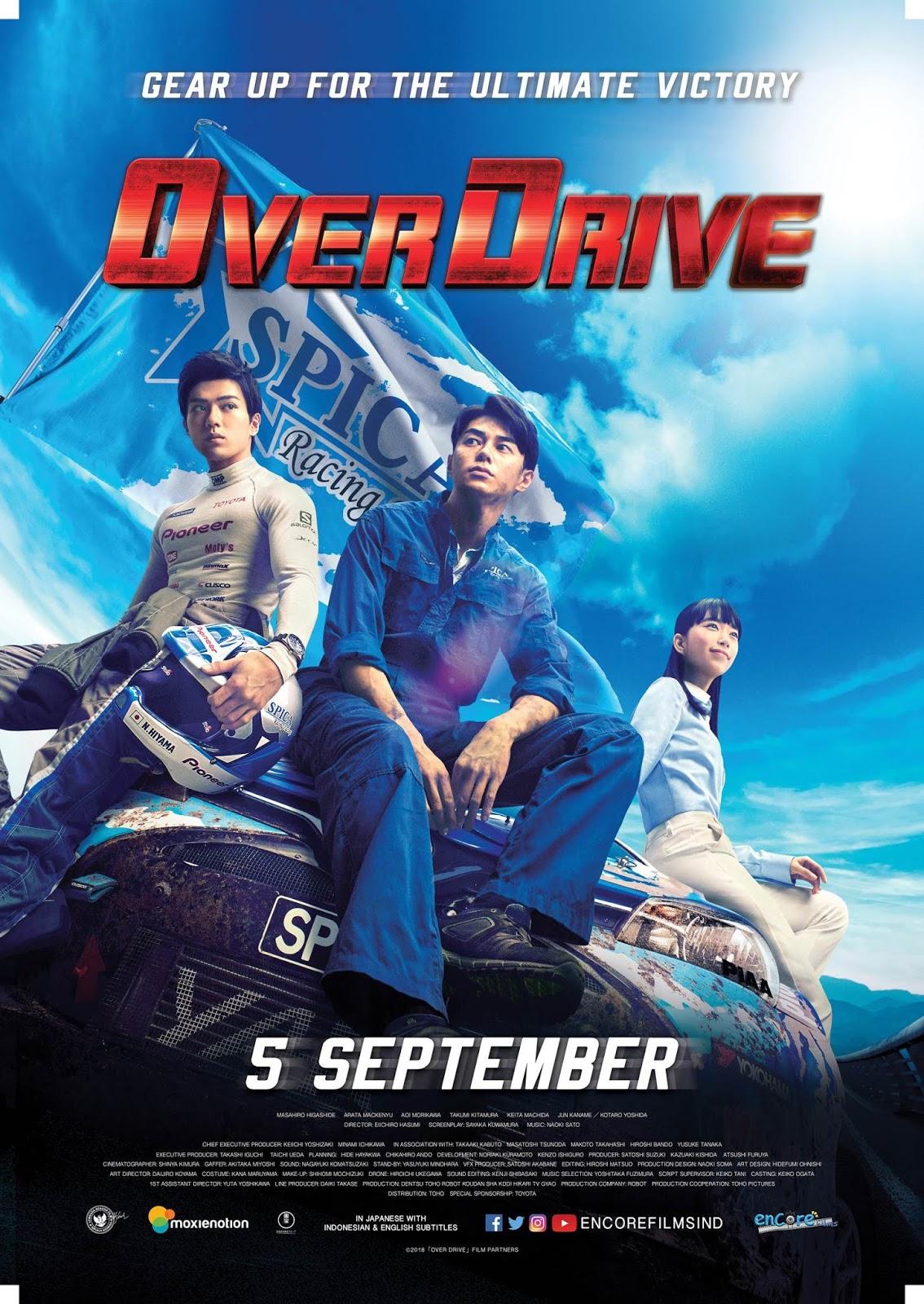 Download Film Over Drive (2018) Subtitle Indonesia Full ...