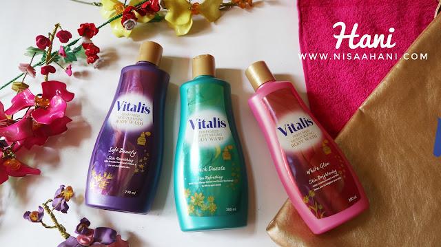 Mandi Parfum bareng Vitalis Perfumed Moisturizing Body Wash