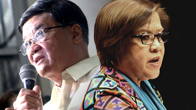Court battle with De Lima will be the 'trial of the century', says Aguirre