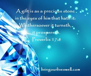 Proverbs 17:8