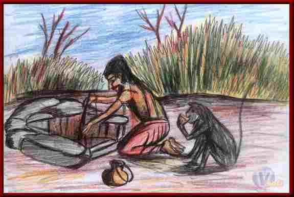 The Thankless Monkey Jatak Tales In Hindi, दुष्ट वानर की कथा
