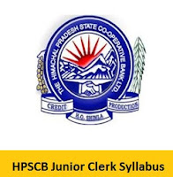 HPSCB Junior Clerk Syllabus
