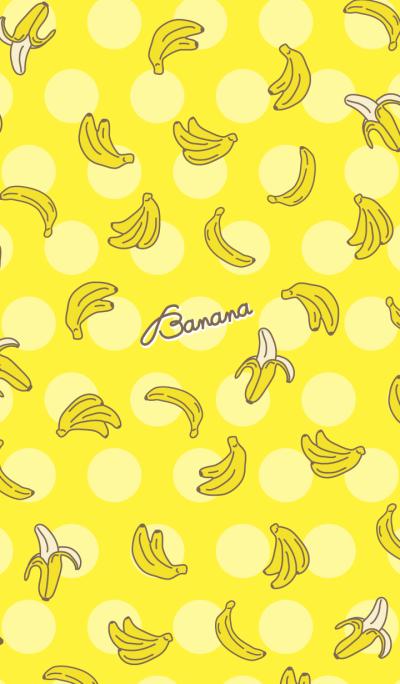 Banana -Yellow dot-joc