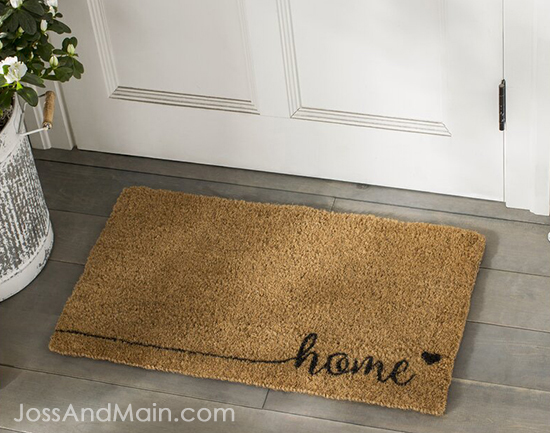 Get a Great Doormat for curb appeal