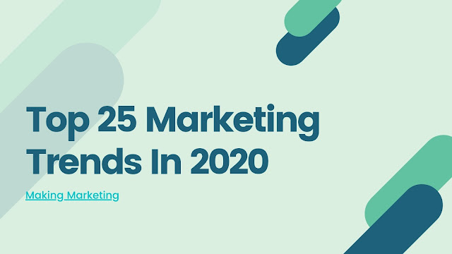 Top 25 Digital Marketing Trends In 2020