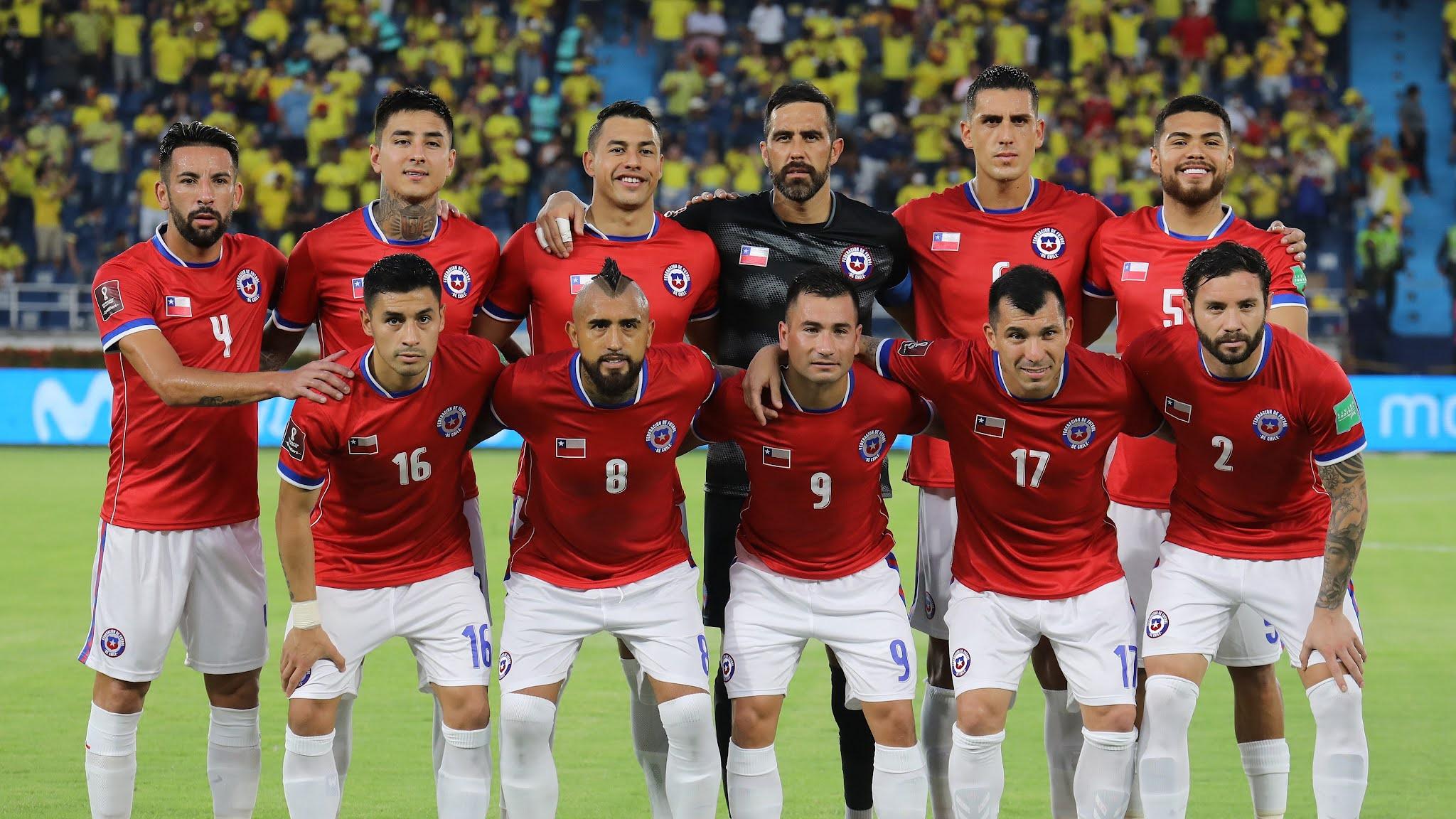 Formación de Chile ante Colombia, Clasificatorias Catar 2022, 9 de septiembre de 2021