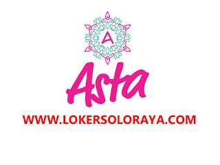 Loker Solo Raya Karyawati Toko Online, Admin Online dan Content Creator di Asta
