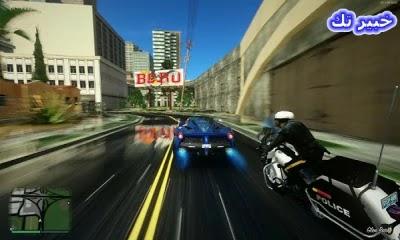 تنزيل لعبة GTA SA معدلة بمود GTA V
