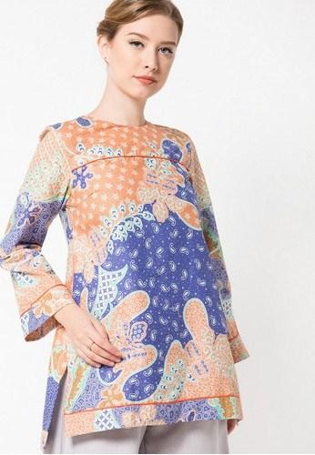 Model Baju Batik Terbaru Untuk Wanita Modis