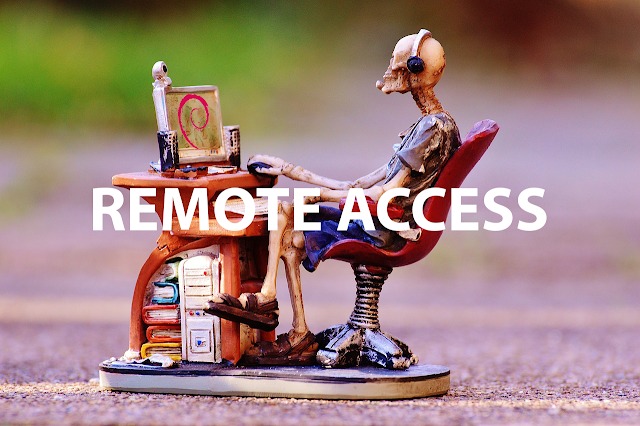 Remote Access dengan SSH-SERVER Debian 8