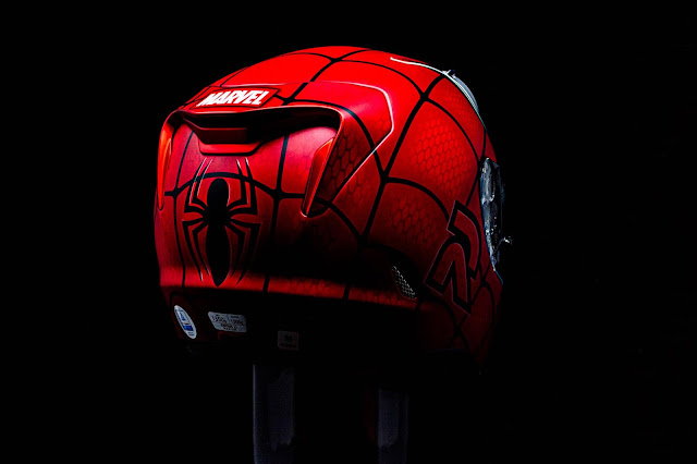 HJC RPHA 11 Spiderman MC-1 SF