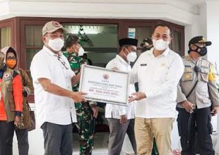 Pemkab Batu Bara Terima Bantuan Dari BNPB
