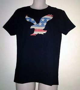 American Eagle flag t shirt