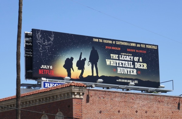 Legacy of Whitetail Deer Hunter film billboard