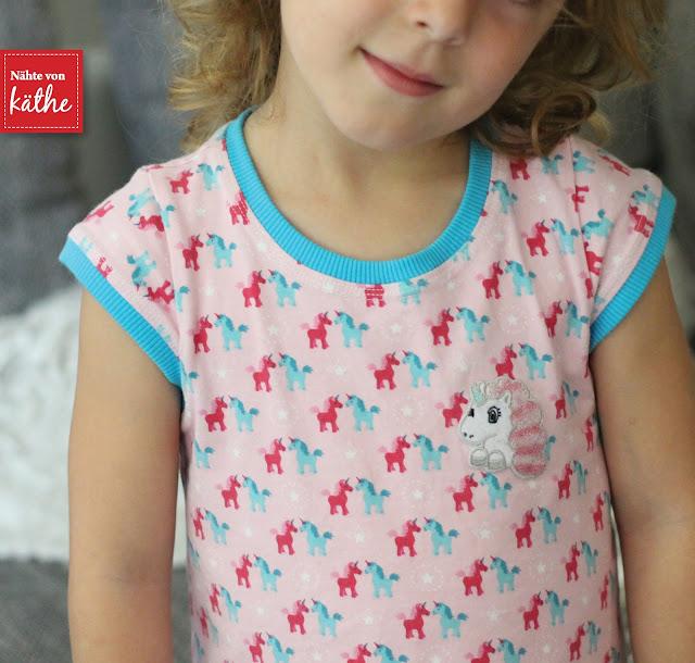 Trägerkleid von Klimperklein aus Jersey Lieblingsfreunde von Tante Ema