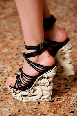 zapatos con plataforma para boda