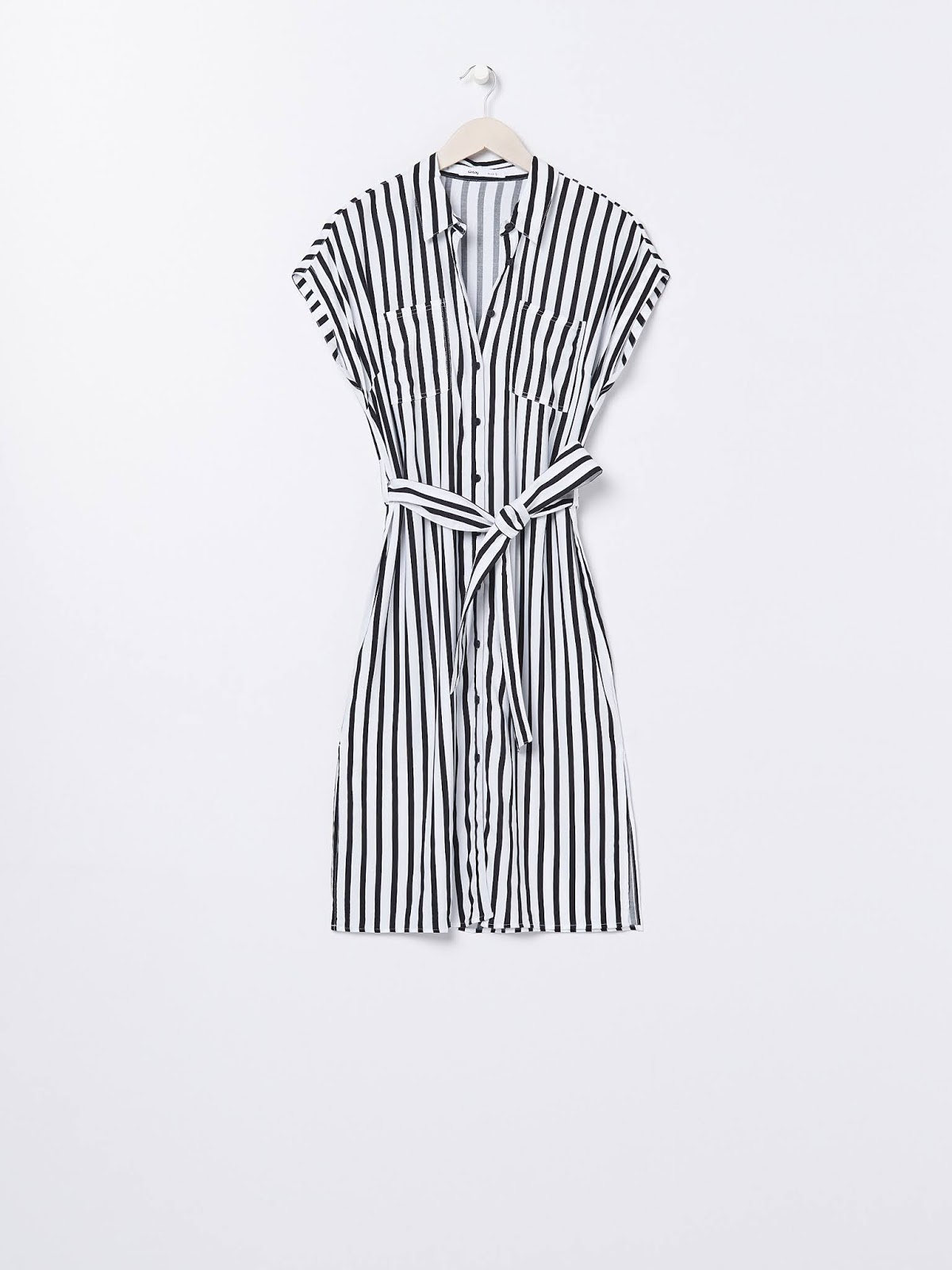 Sukienka koszulowa z wiskozy SINSAY