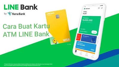Cara Membuat ATM LINE Bank  : Syarat dan Biaya Pembuatan