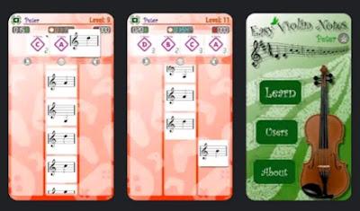 تحميل تطبيق معلم النوتات الموسيقية | Easy Violin Notes
