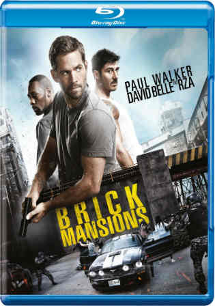 Brick Mansions 2014 BluRay 300Mb Hindi Dual Audio 480p ESub Watch Online Full Movie Download bolly4u