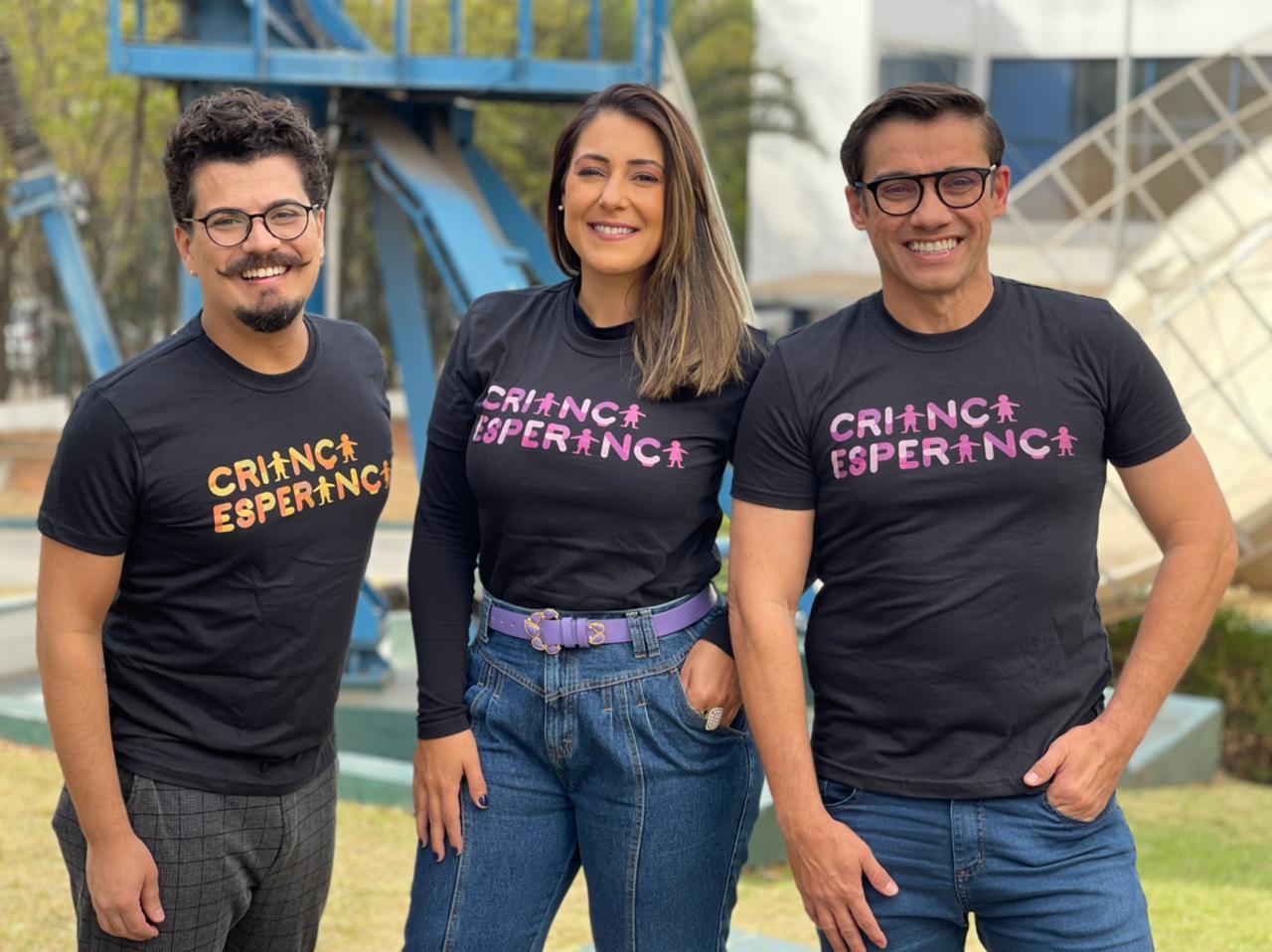 TV TEM realiza programa especial do Criança Esperança