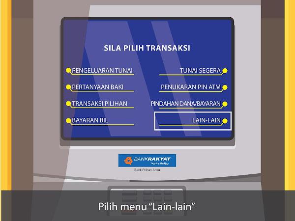 link Bank Rakyat ke akaun tabung haji