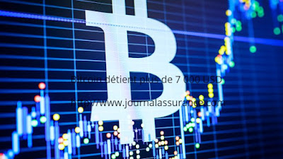 Bitcoin détient plus de 7 000 USD
