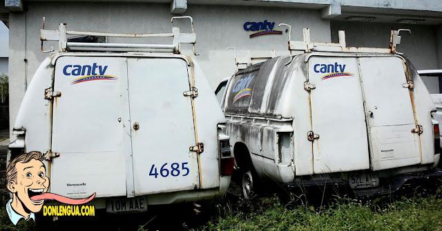 30 % de Caracas se quedó sin Internet ni teléfonos fijos de CANTV