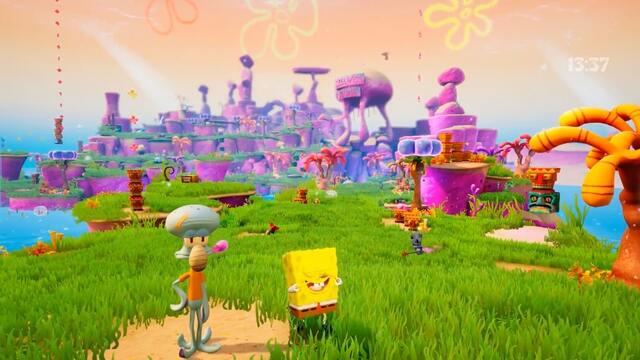 Spongebob Squarepants: Battle For Bikini Bottom Rehydrated Gameplay SS