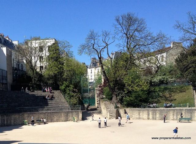 Arenas de Lutecia en París