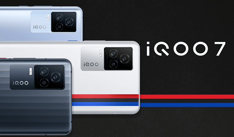 iQOO 7 with SD888, 120Hz AMOLED screen, 1000Hz touch sampling rate, and 120W charge now official!