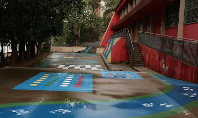 Escola Criativa reúne artistas e revitaliza espaços de escolas em SP Programa visa à melhoria do ambiente escolar pela integração  O projeto Escola Criativa, promovido pelo Instituto Choque Cultural e que revitaliza espaços de escolas públicas de São Paulo com intervenções artísticas há dez anos,