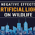 The Negative Effects of Artificial Light on Wildlife #infographic