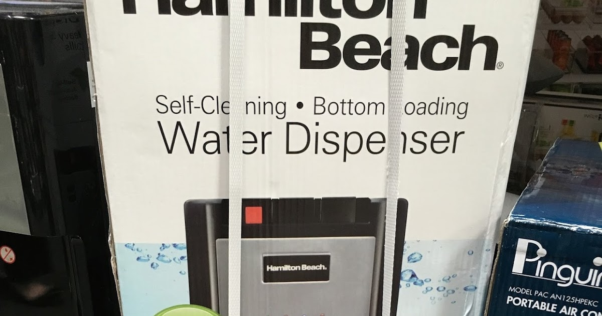 Hamilton Beach Bl 1 3 Water Dispenser Costco Weekender
