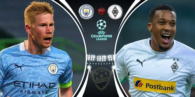 Manchester City vs Monchengladbach Prediction & Match Preview