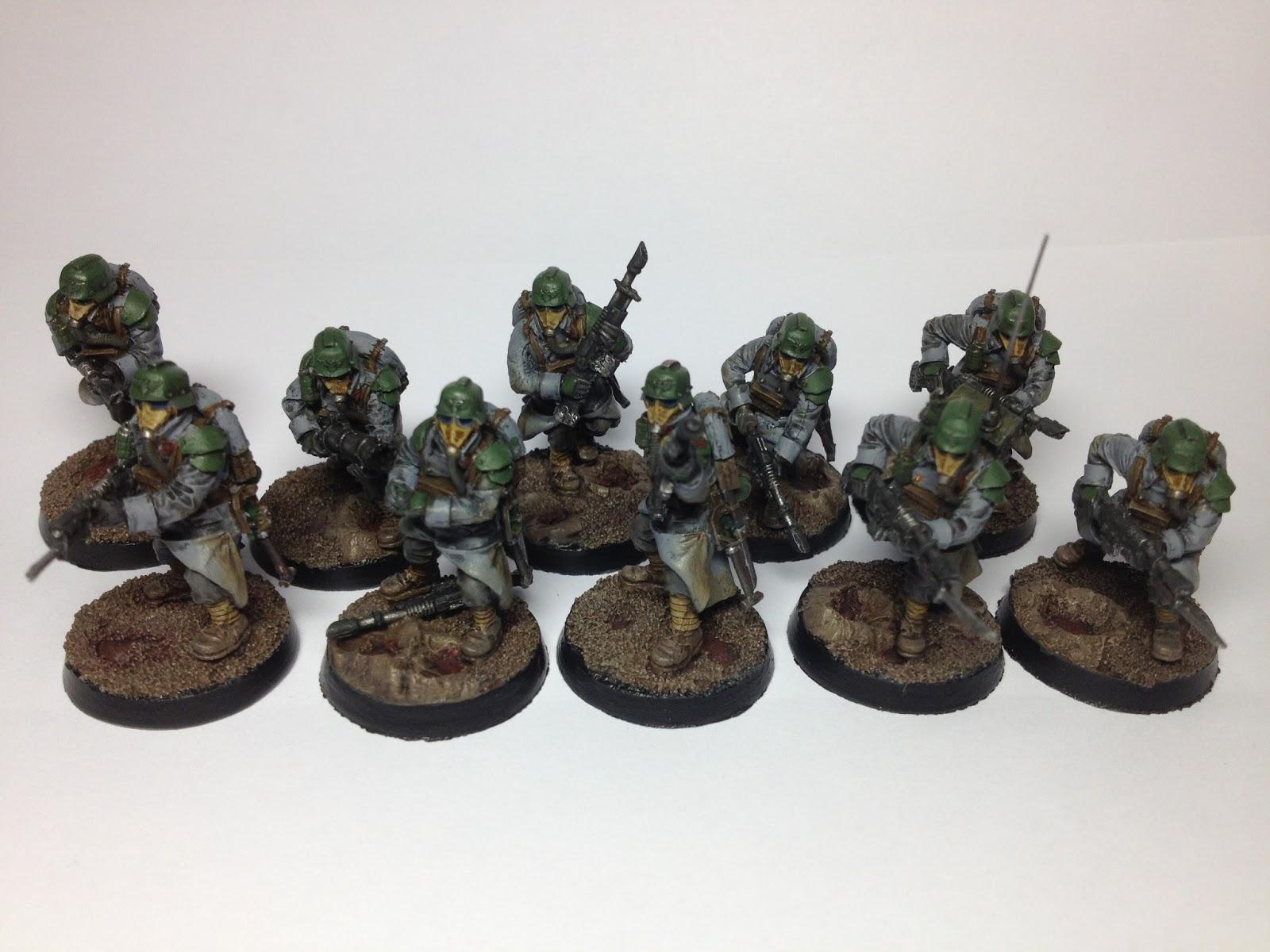 Death Korps of Krieg Squad Complete