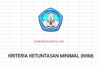 Aplikasi KKM K13 Kelas 1 SD Revisi 2018
