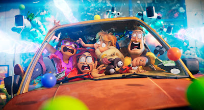 Directed by  Michael Rianda Jeff Rowe...(co-director)Writing Credits   Michael Rianda...(written by) and Jeff Rowe...(written by)  Animation Animated Sony Cell Shading Funny Humor Comedy Family Kids Children