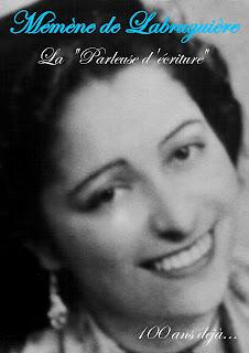 Mémène de Labruguière. La parleuse d'écriture.