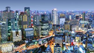Osaka Kota Dengan Populasi Terbanyak di Dunia