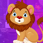 Games4King Complacent Lion Escape